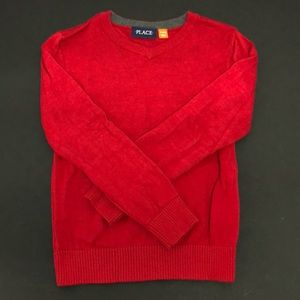 Boy's Red Sweater Children's Place Size 6